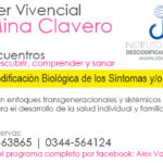 Sábado 30-9 Inicia Taller Vivencial de Descodificación Biológica en Mina Clavero