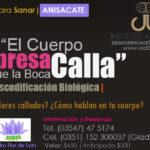 Sábado 17 FEB 2018, Charla de Descodificación Biológica en Anisacate