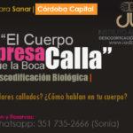 Viernes 23 FEB 2018, Charla de Descodificación Biológica en Córdoba