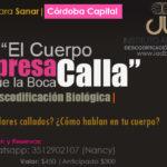 Viernes 9 FEB 2018, Charla de Descodificación Biológica en Córdoba